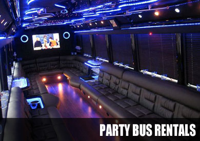 Tucson Wedding Party Bus