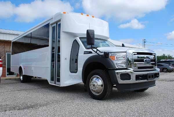 22 Passenger party bus rental Benson