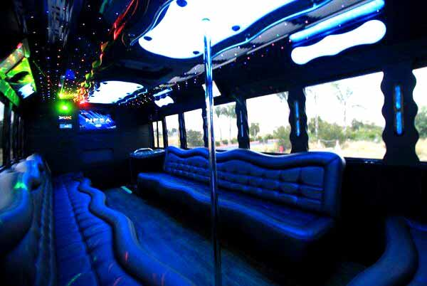 40 people party bus Benson