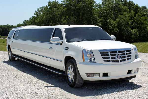 Cadillac Escalade limo Three Points
