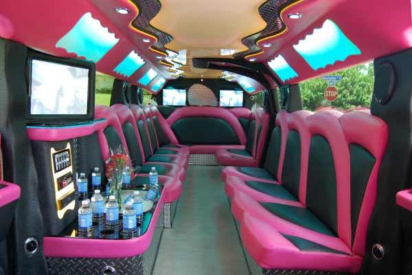 pink hummer limousine Casas Adobes