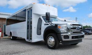30 passenger bus rental Benson