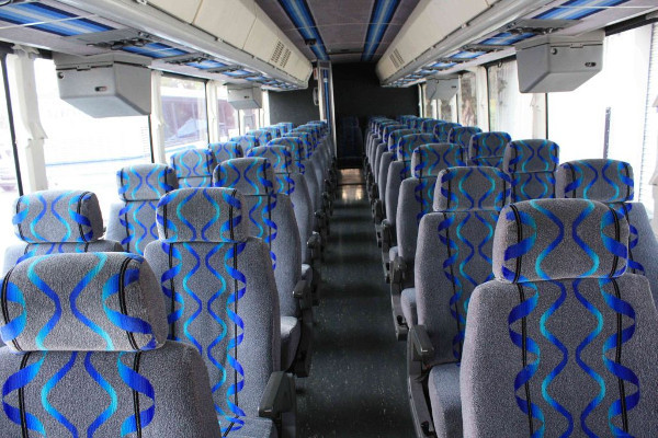 30 person shuttle bus rental Casas Adobes