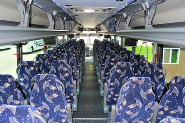 40 person charter bus Benson