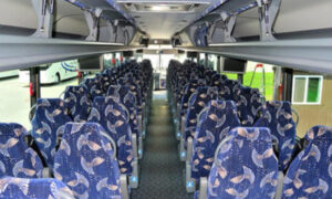 40 person charter bus Three Points