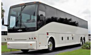 50 passenger charter bus Benson