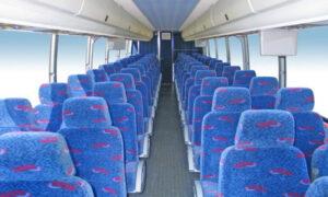 50 person charter bus rental Benson