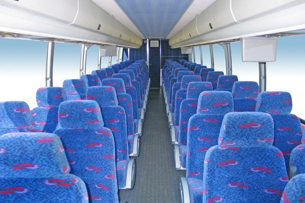 50 person charter bus rental Valencia West